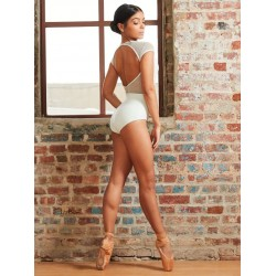 CAPEZIO RAGLAN SLEEVE HIGH NECK LEOTARD