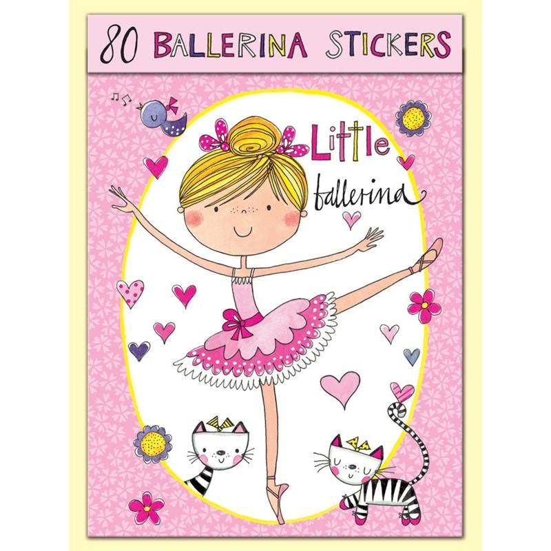 La Boutique Danse - Stickers Ballerine