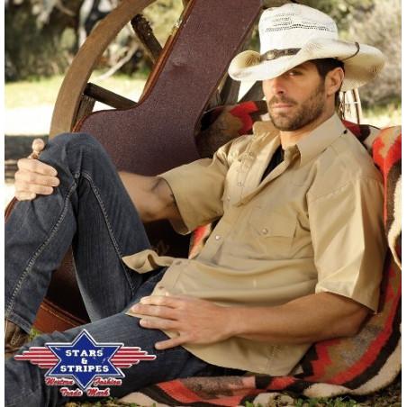 La Boutique Danse Country - Chemise manches courtes Chris Homme