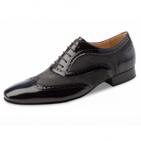 La Boutique Danse - Chaussure Nueva Epoca - Domingo - Homme grises et noires