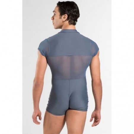 La Boutique Danse - Wear Moi Men's ROMEO Collared Biketard