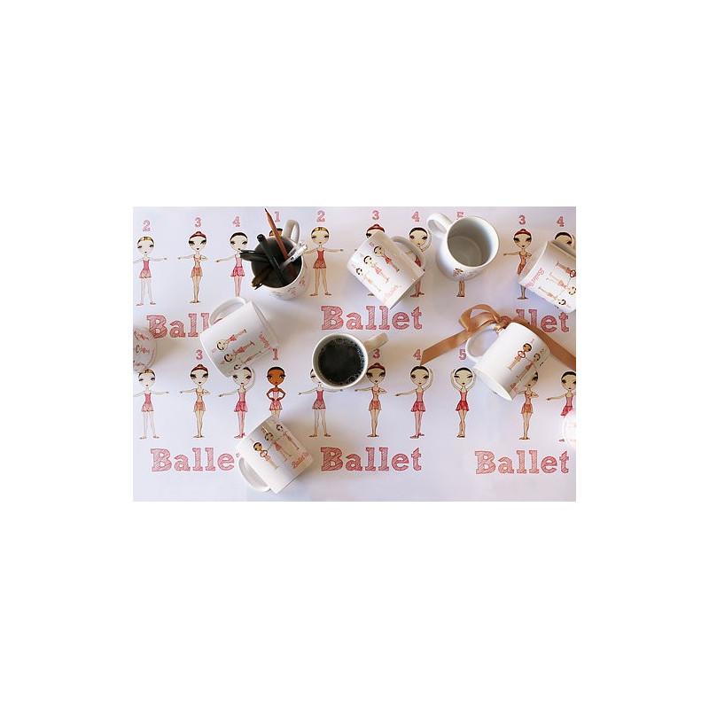 Ballet Positions Mug - Ballet Papier