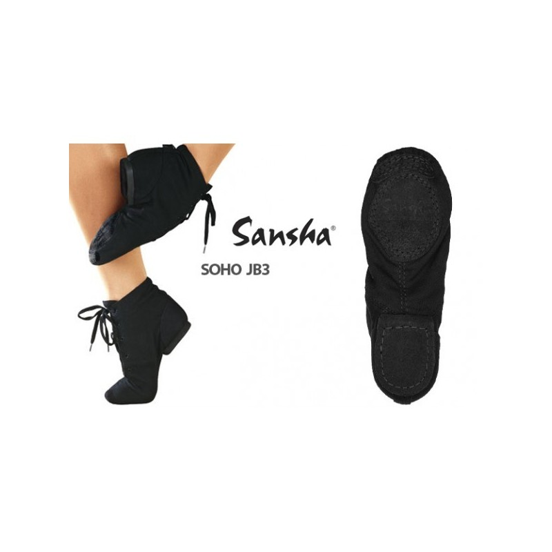 La Boutique Danse - BOTTINES DE JAZZ SOHO JB3 SANSHA