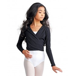 Cotton Cross-Over Top - Child CAD850C CAPEZIO