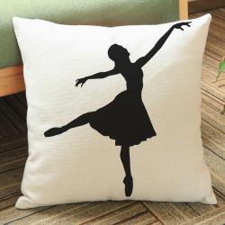 Housse de Coussin Danseuse