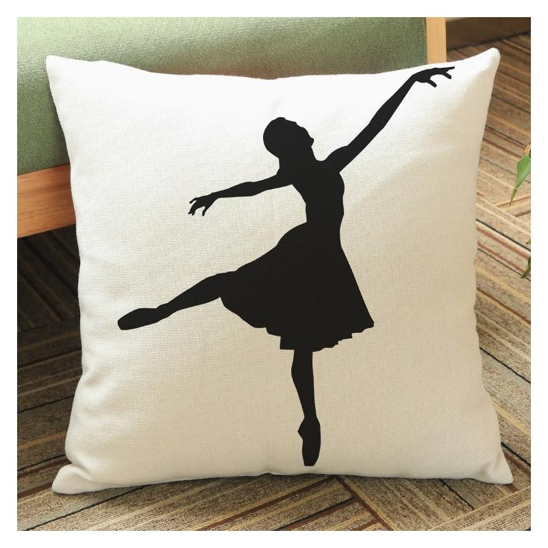La Boutique Danse - Housse de Coussin Danseuse