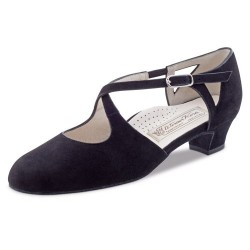 La Boutique Danse -Ladies Dance Shoes Gala 3,4 Nappa black Comfort