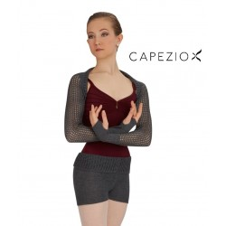 CAPEZIO SHORT W/ FOLD DOWN WAIST CK1003W