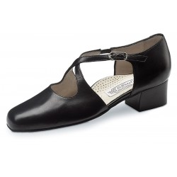 Ladies Dance Shoes INES 3.5 Nappa black Comfort