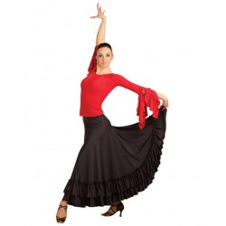 La Boutique Danse - FLAMENCO SKIRT CAPEZIO FLM101