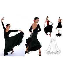 La Boutique Danse - Jupe Flamenco FLM101 de Capezio