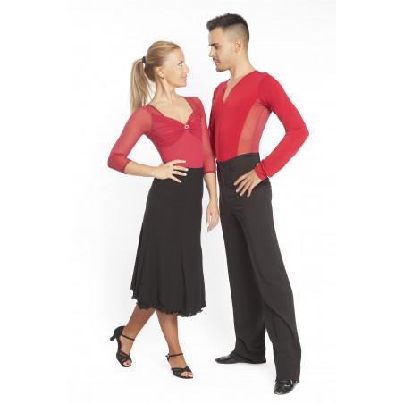 La Boutique Danse Salsa - Men Black Pants Pancamil 5095 INTERMEZZO