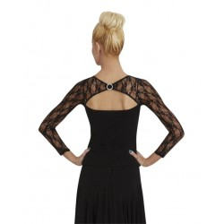 Capezio Long Sleeve Lace Top