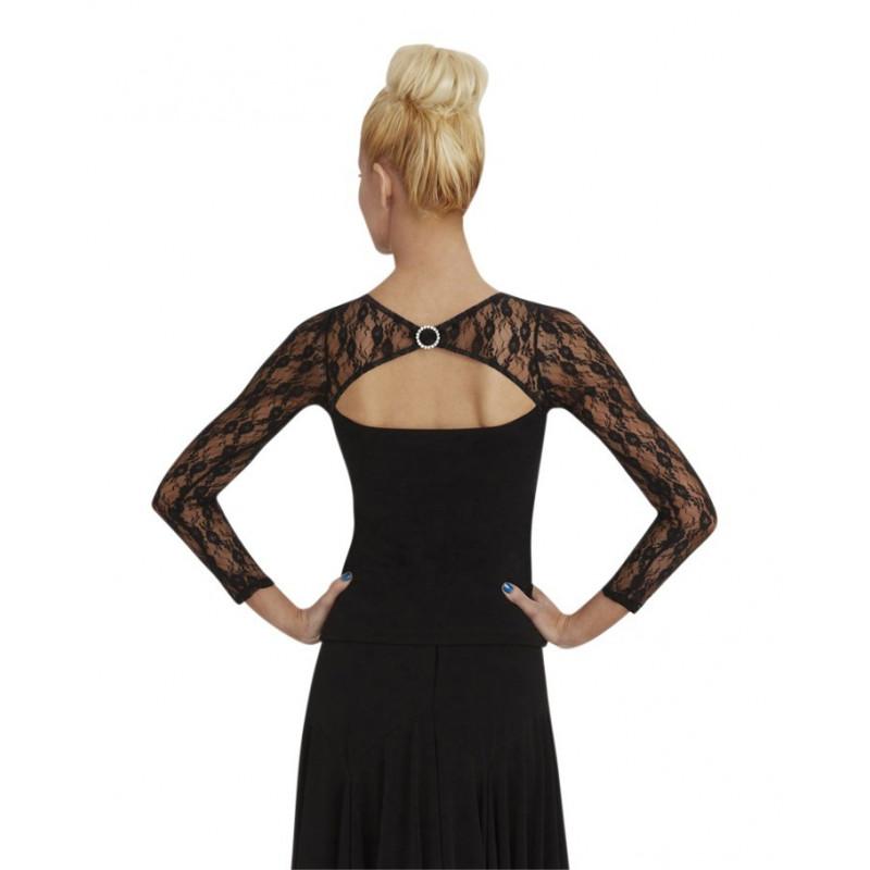La Boutique Danse - Capezio Long Sleeve Lace Top