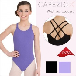 Children's Cami Leotard with Double Strap Back by Capezio CC123C