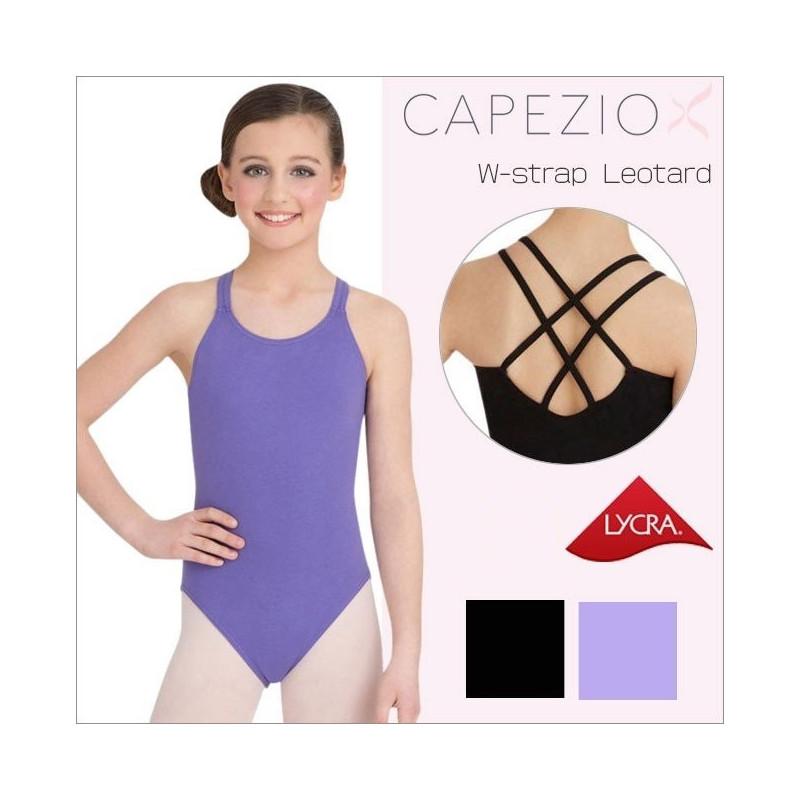 La Boutique Danse - Children's Cami Leotard with Double Strap Back by Capezio CC123C