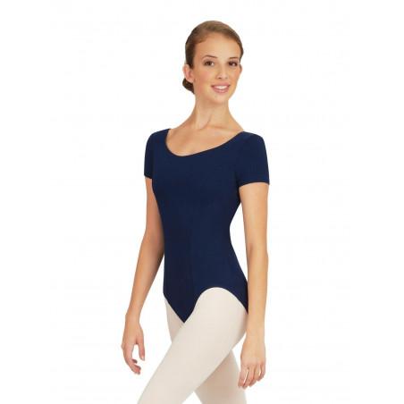 La Boutique Danse - PRINCESS SEAM SHORT-SLEEVE LEOTARD CC420 CAPEZIO