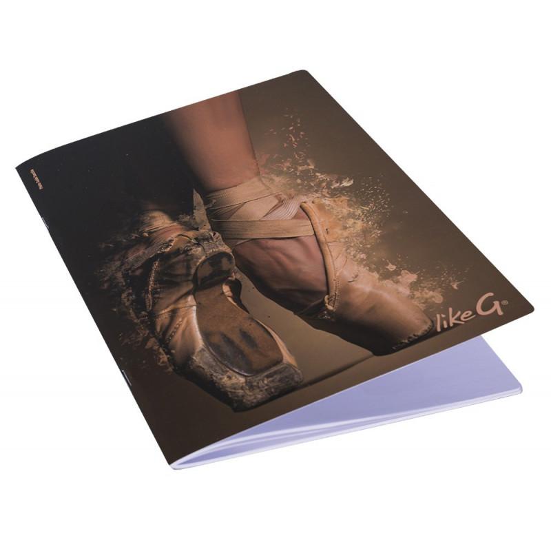 La Boutique Danse - Cahier A4 Like G Pointes 141