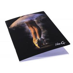 La Boutique Danse - Cahier A4 Like G Tutu Pointes 130