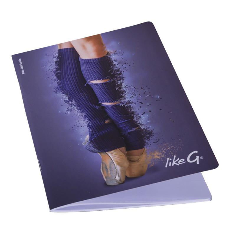 La Boutique Danse - Cahier A5 Like G Pointes 142