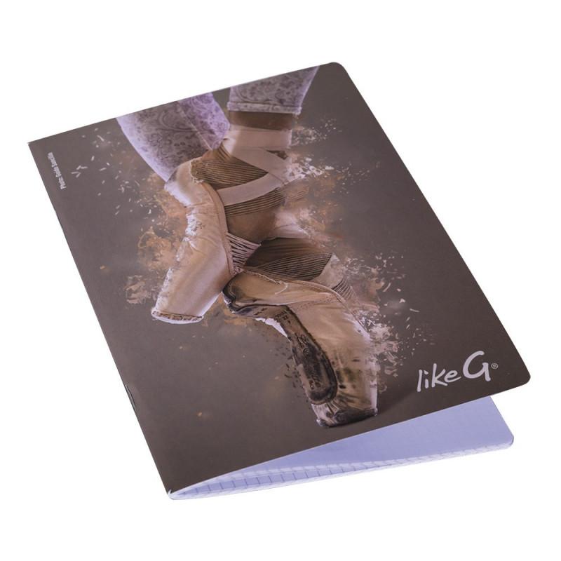 La Boutique Danse - Cahier A5 Like G Pointes 143