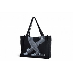 Like-G Black Shopper Bag