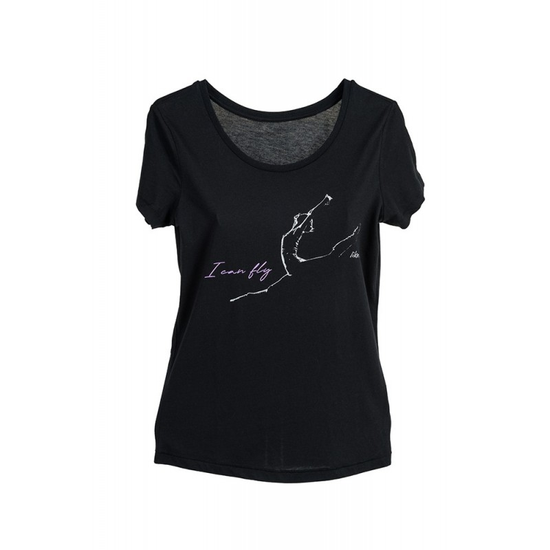 La Boutique Danse - Black Medium Fit T-shirt LikeG