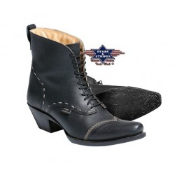 La Boutique Danse Country -  Bottes Femmes Ashley Noires