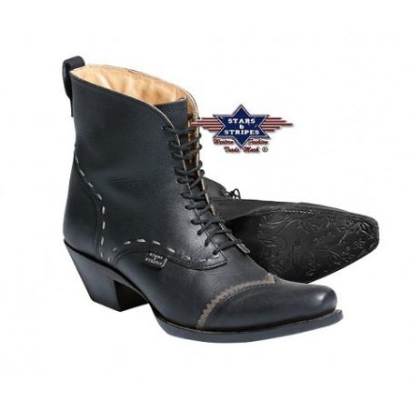 La Boutique Danse Country -  Bottes Femmes Ashley Noires