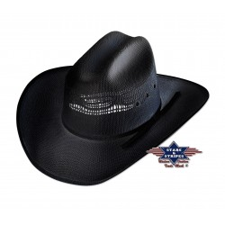 La Boutique Danse Country - Chapeau de paille Ashton Black