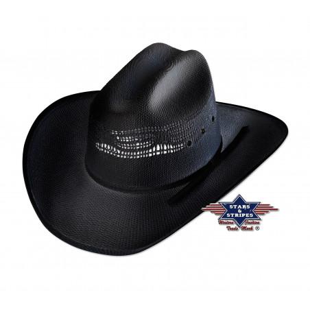 La Boutique Danse Country - Chapeau de paille Ashton Black