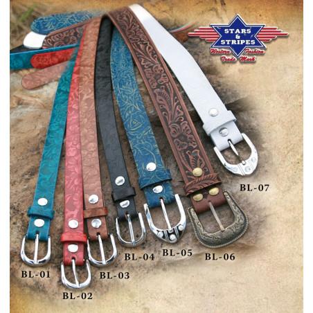 BL05 Blue Belt Stars & Stripes
