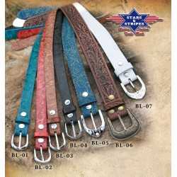 BL02 Red Belt Stars & Stripes