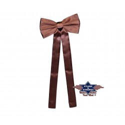 Brown Cow Boy Tie