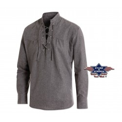 La Boutique Country - Chemise Columbus Grey Homme