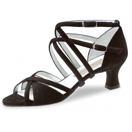 La Boutique Danse - Ladies Dance Shoes Eva 3,4 Nappa black Comfort