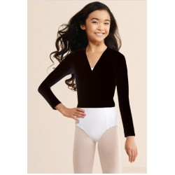 CAPEZIO TACTEL WRAP TOP - CHILD TC0010C