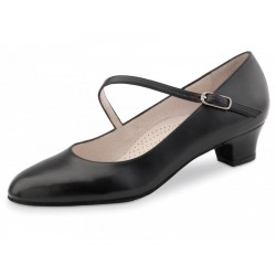 La Boutique Danse - Dance Shoes Cindy 3,4 Nappa black Comfort in Black - 3,4 cm (Comfort)