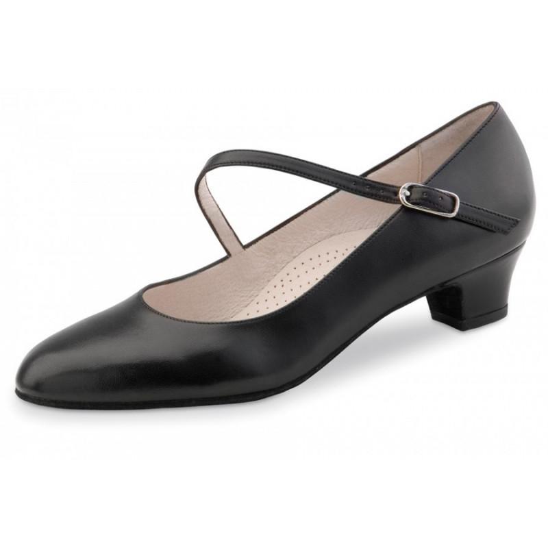 La Boutique Danse - Dance Shoes Cindy 3,4 Nappa black Comfort in Black - 3,4 cm (Comfort)