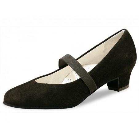 La Boutique Danse - Ladies Dance Shoes Daniela 3,4 Suede black Comfort