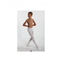 WEAR MOI SOLO BLACK FOOTED BOY TIGHTS
