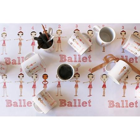 Mug Positions - Ballet Papier