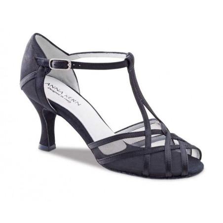 La Boutique Danse - 640-60 - Anna Kern en Satin Noir