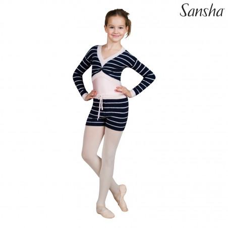 La Boutique Danse - Affaire ! Demi-pointes cuir  Sansha 5L Tutu Split